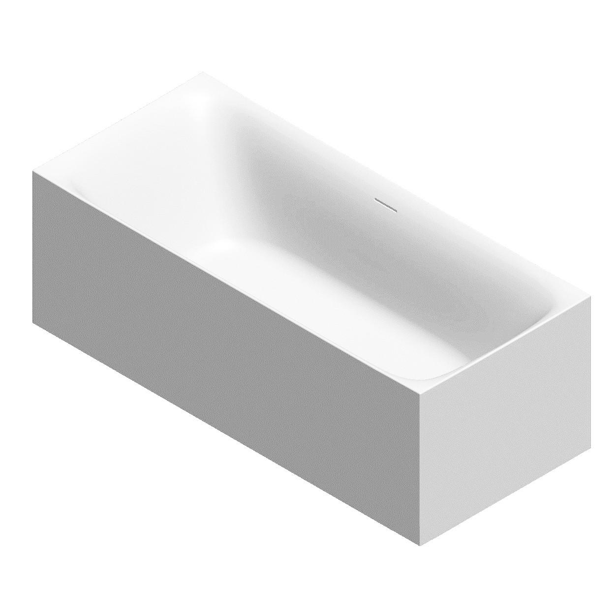 Ванная отдельностоящая акриловая Volle 170х75х58 с сифоном