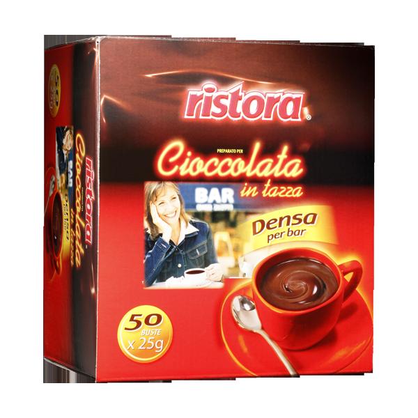 Горячий шоколад Ristora Порціоний 50шт по 25г