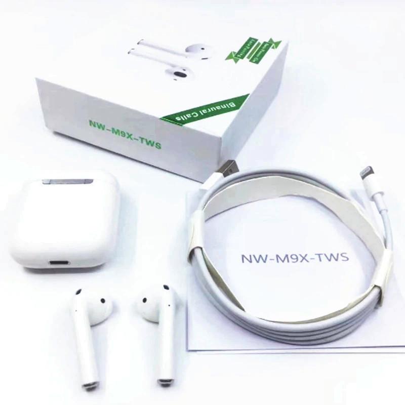 Беспроводные сенсорные Bluetooth наушники iFans NW M9X TWS White