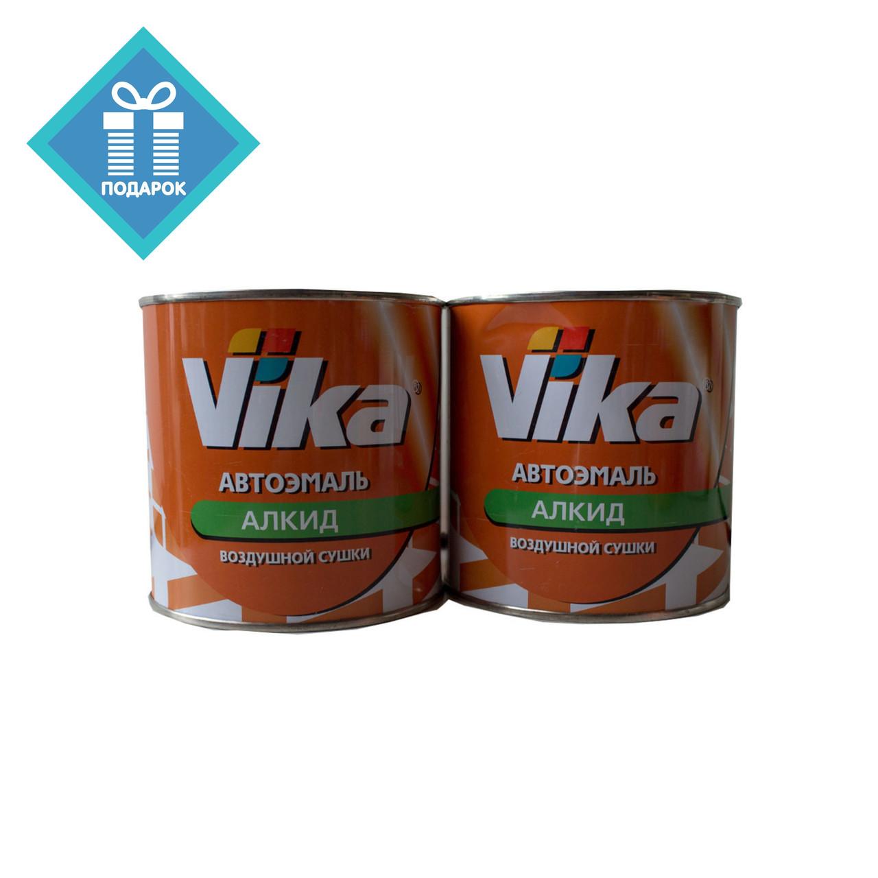 Автоэмаль алкидная краска  VIKA 295 Оранжевая