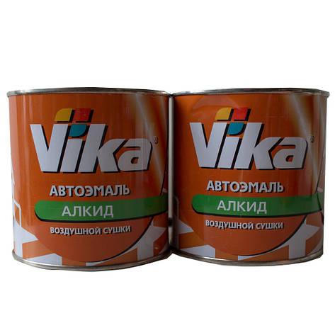 Автоэмаль алкидная краска  VIKA 295 Оранжевая, фото 2