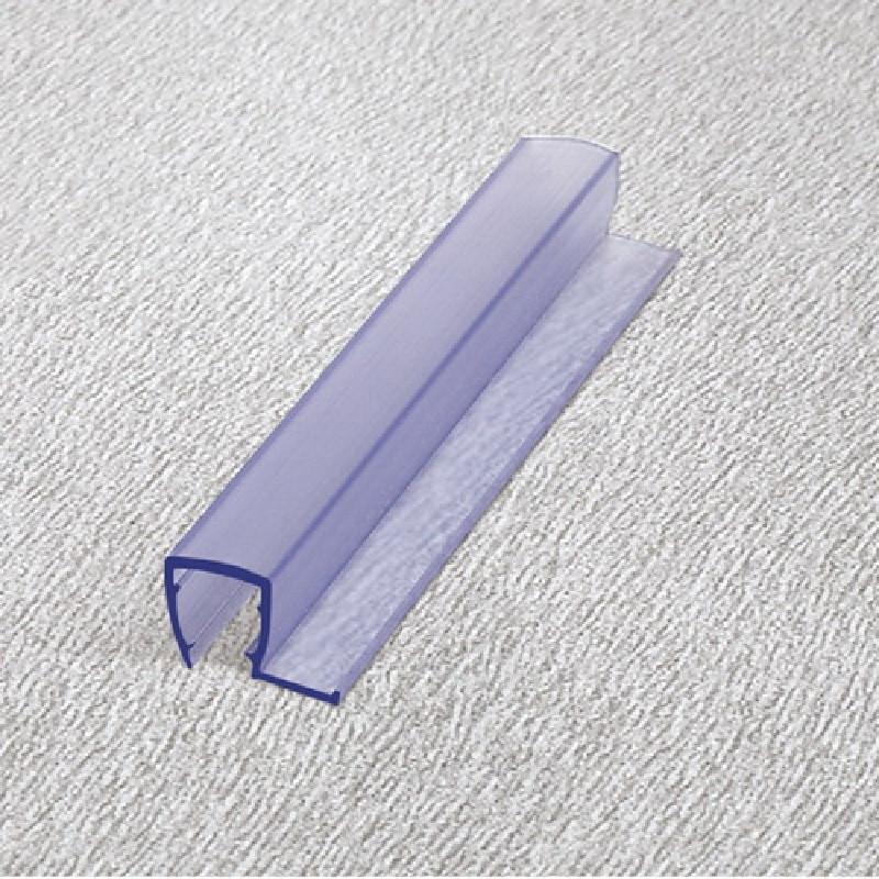 Уплотнительный профиль для стекла ПВХ HDL-202 СТЕКЛО-СТЕКЛО 90 ГРАДУСОВ