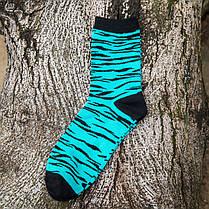 МужскаяполосатаяхлопокТрубкаНоскиНа открытом воздухе Дезодорация Спортивный носок - 1TopShop, фото 3