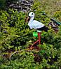 Садовая фигура Семья садовых аистов №2, фото 6
