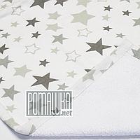 Влагонепроницаемая пеленка 70х50 см для новорожденных детей грудничков двухсторонняя многоразовая 3914 Белый