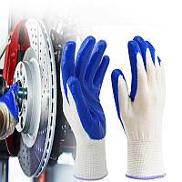 KALOADNylonРаботыснитриловымпокрытием Перчатки Защитная защитная рабочая одежда Перчатки Фитнес - 1TopShop