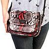 """Женская сумка кожаная BUTUN 3100-038-006 кросс-боди """"под рептилию"""" цветная, фото 7"""