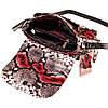 """Женская сумка кожаная BUTUN 3100-038-006 кросс-боди """"под рептилию"""" цветная, фото 5"""