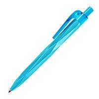 Ручка ber2003 пластиковая, голубая, от 100 шт