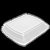 LB3 УПАКОВКА Ланч-бокс (3 відділення) 250*195*68 білий, 15шт, фото 2