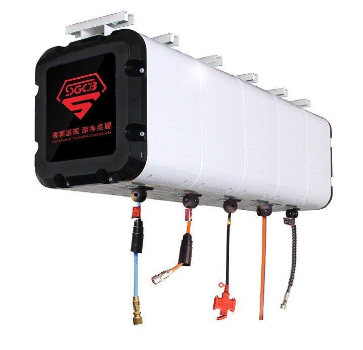 SGCB SGGF014 Combined Reel Box 3 (W+A+E) Подвесной бокс с 3 катушками (вода, воздух, ток)