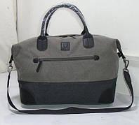 Дорожная сумка серая 50×21×33 см BST 880003