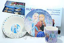 Сувенирная посуда 5в1 холодное сердце Эльза