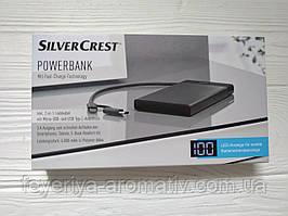 Портативное зарядное устройство повербанк SilveCrest Powerbank 6000mAh (Германия)