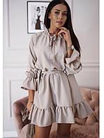Женское  платье с воланами , женские платья, фото 1