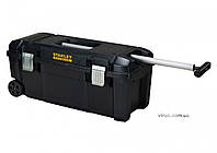 Ящик для інструменту STANLEY 28 на коліщатах з телескопічною ручкою 71x33x30,5 мм