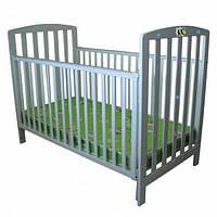 Кровать деревянная Baby Baby Tilly PANDA DELUXE BC-08-001 Голубая (20181004V-053)