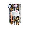 Насосная группа BRV M2 MIX33 20555R-M33-RSG8 с 3-х ходовым смесительным клапаном, 0-50% by-pass, 2 линии