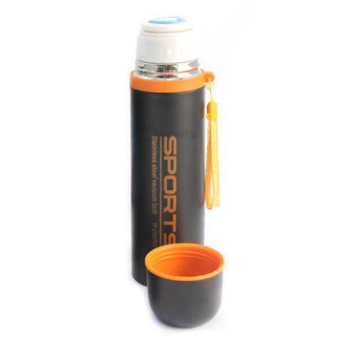 Туристический вакуумный термос SZM 8063 R83545 500 мл, оранжевый