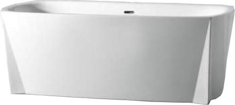 Ванная отдельностоящая акриловая Volle 170х80х68 с сифоном