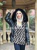 Куртка из итальянской кожи с норкой, 46/48 размер