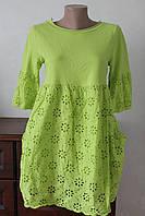 Женское платье коттон выбивка, фото 1