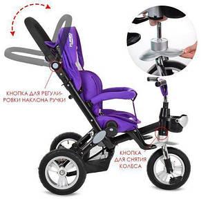 Велосипед детский Profi M AL3645-8 Фиолетовый (intM AL3645-8), фото 3