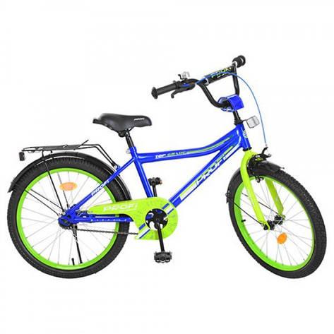 """Велосипед детский 20"""" Profi Y20103 Синий (intY20103), фото 2"""