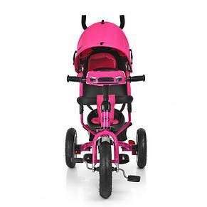 Велосипед детский Profi Turbo Trike M 3115HA-18 Малиновый, фото 2