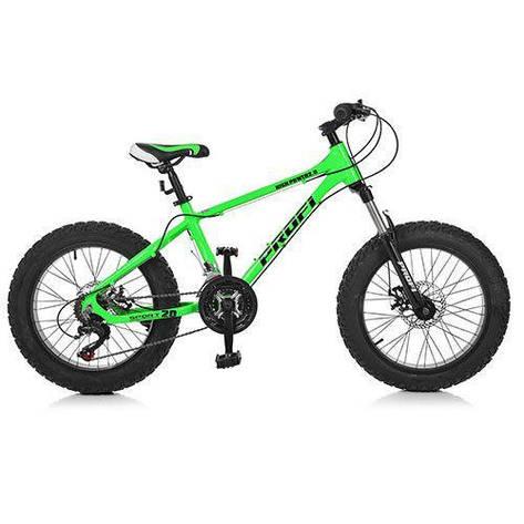 """Велосипед детский 20"""" Profi 2.0 A20.1 Салатовый (int2.0 A20.1), фото 2"""