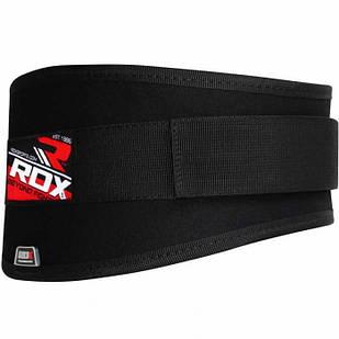 Пояс для важкої атлетики,атлетичний пояс RDX Black