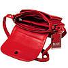Женская сумка кожаная BUTUN 3100-004-006 кросс-боди красная, фото 4
