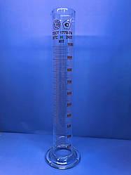 Цилиндр с носиком и стеклянной основой Обьемом 1000мл