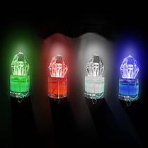 LED Рыбалка Светлое глубокое падение под водой Алмазный мигающий свет Приманка - 1TopShop, фото 3