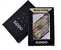 Зажигалка бензиновая Zippo в подарочной упаковке