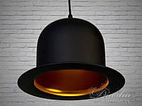 Винтажный светильник-шляпа LOFT, фото 1