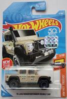 Машинка Hot Wheels 2018 '15 Land Rover Defender Double Cab
