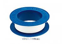 Фум - стрічка VOREL ущільнююча, 12мм х 0,75мм х 10м