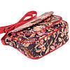 """Женская сумка кожаная BUTUN 3100-065-006 кросс-боди """"цветы"""", фото 4"""
