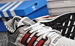 Мужские кроссовки Adidas Equipment (серо/красные), фото 4
