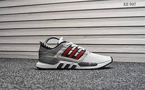 Чоловічі кросівки Adidas Equipment (сіро/червоні)