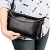 Женская сумка кожаная BUTUN 3107-004-001 кросс-боди черная, фото 8