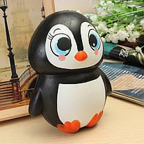 Squishy Penguin Jumbo 13cm Медленно растущий мягкий Kawaii Симпатичный коллекция подарочной декорации для коллекции игрушек - 1TopShop, фото 3