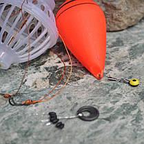 ZANLURE толстолобик пестрый толстолобик Float Рыбалка Set Колючая Шесть сильного взрыва Крючки рыболовные снасти - 1TopShop, фото 2