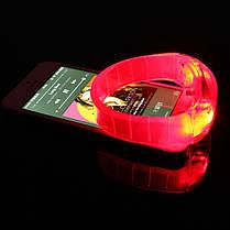 LED Велоспорт Спорт выживание свет голосовой активации браслет запястье мигалка - 1TopShop, фото 3