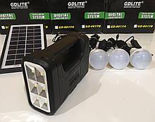 Набор ламп с солнечной батареей GDLITE GD-8017