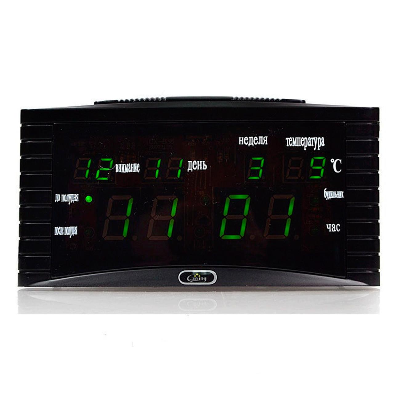 Настольный электроный часы VST-838