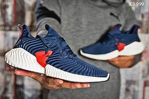 Чоловічі кросівки Adidas AlphaBounce Instinct (синьо/білі)