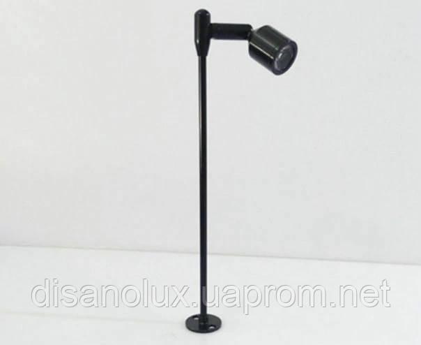 Светильник для подсветки витрин  LED BL-3W 220V  4500К  черный  29cm