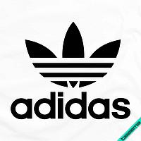 Аппликация, наклейка на ткань логотип Трилистник [Свой размер и материалы в ассортименте]